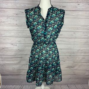 GAP Fox Print Dress Size M